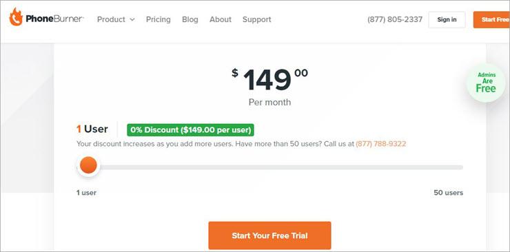 Phoneburner pricing