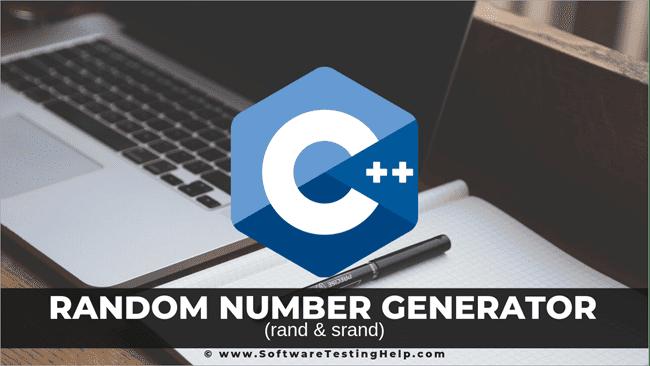 Random number generator (rand & srand) C++