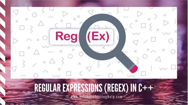 Regular Expressions regex in C++