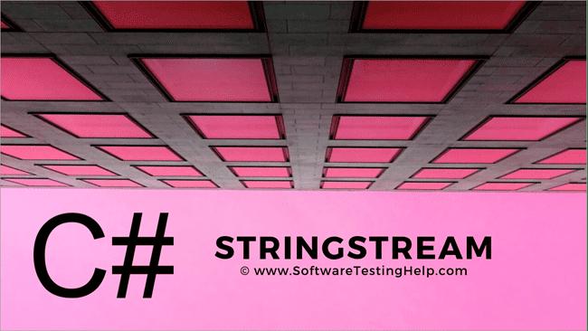 StringStream in C++
