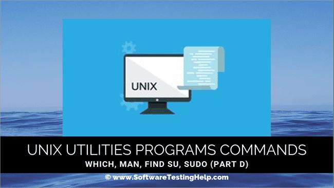 Unix Utilities Programs Commands