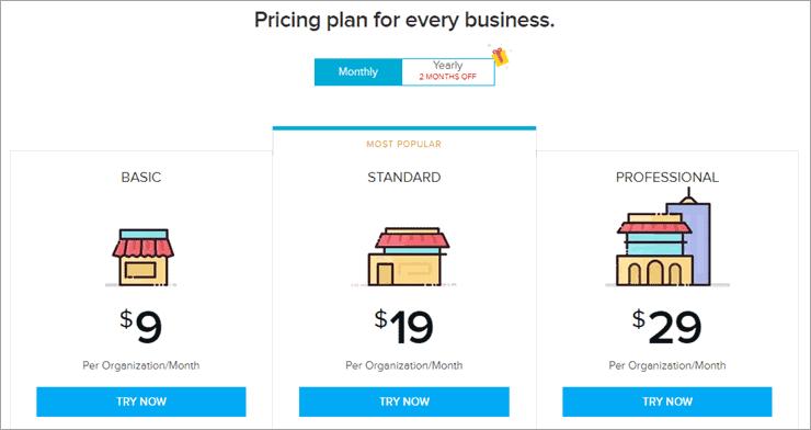Zoho Pricing