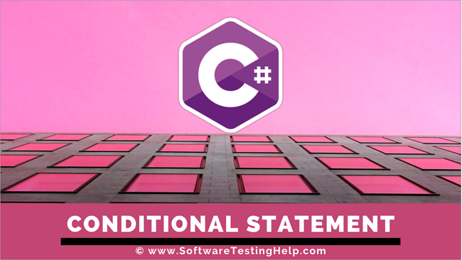 C# conditional statements