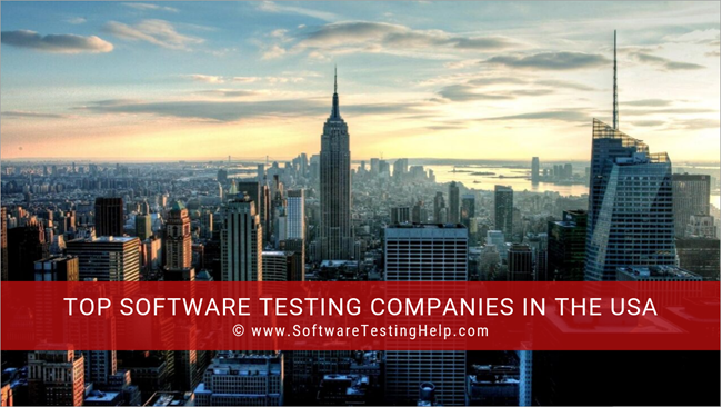 Top Software Testing Companies in USA