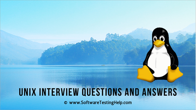 UNIX Interview Questions and Answers