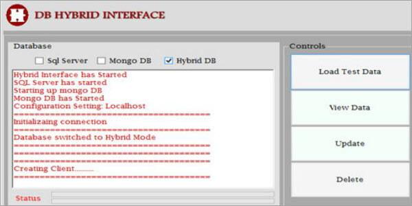 DB hybrid interface