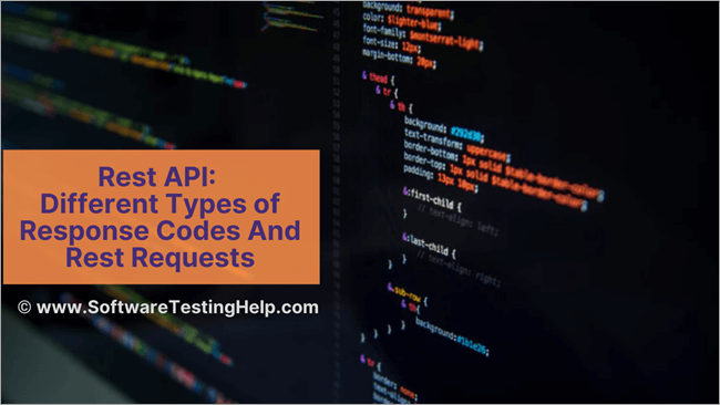 Different Types of Response Codes And Rest Requests