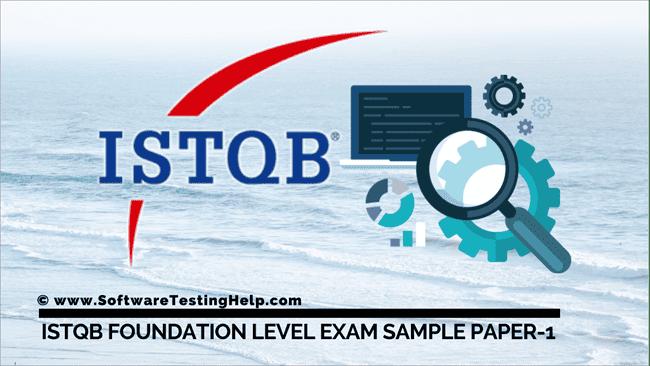 ISTQB Foundation Level Exam Sample Paper-1
