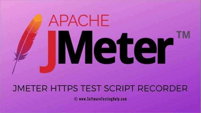JMeter HTTPS Test Script Recorder