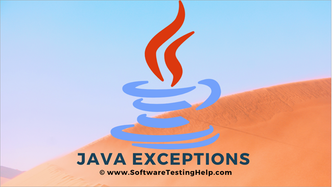Java Exceptions and Procedures to Handle Exception