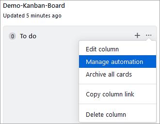 Manage Automation