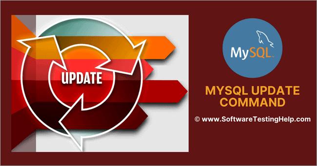 MySQL Update Command