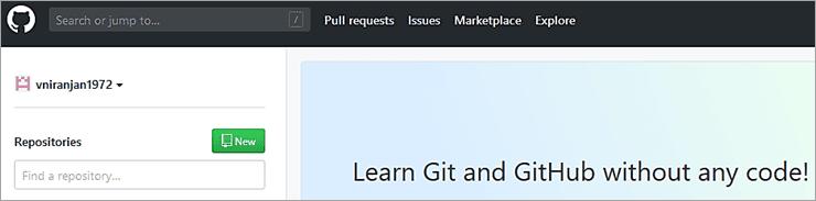 GitHub Login Screen