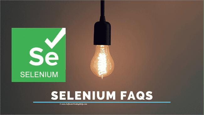 Selenium FAQs