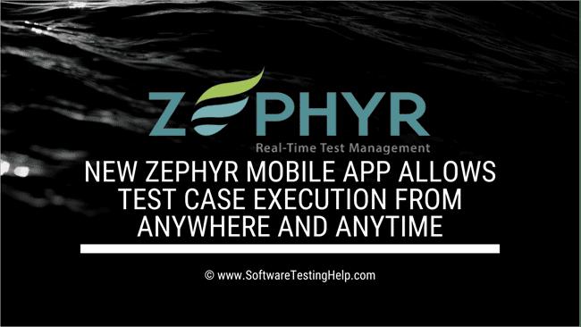 Zephyr Mobile App