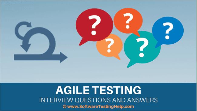 agile testing q&A
