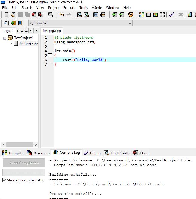 dev_c++Workspace
