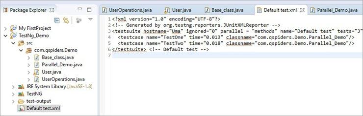 "Configure ""Parallel"" attribute as 'methods'"