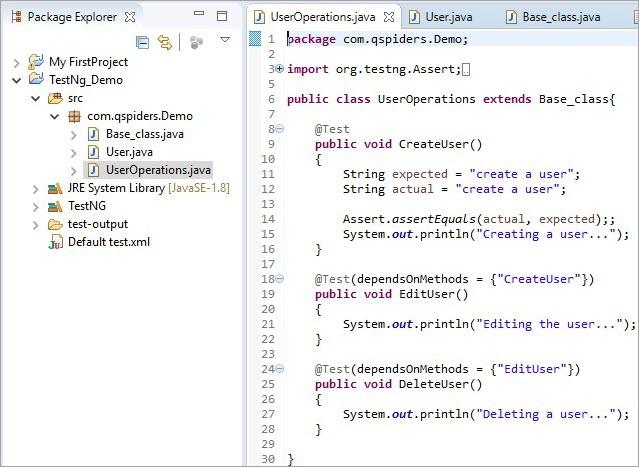 UserOperations. Java