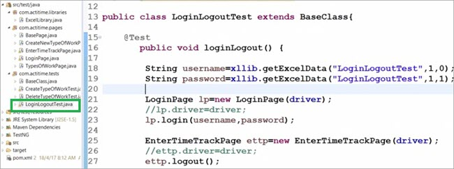 Batch execution using TestNG