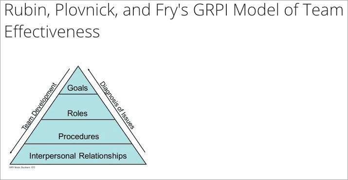 GRPI Model of Team Effectiveness