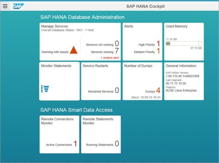 SAP HANA Database Administration