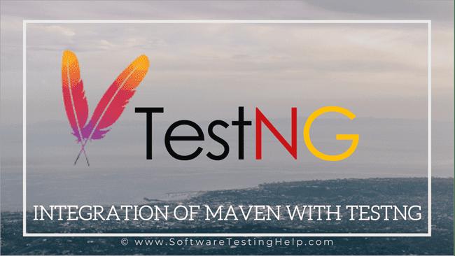 Integration Of Maven With TestNg