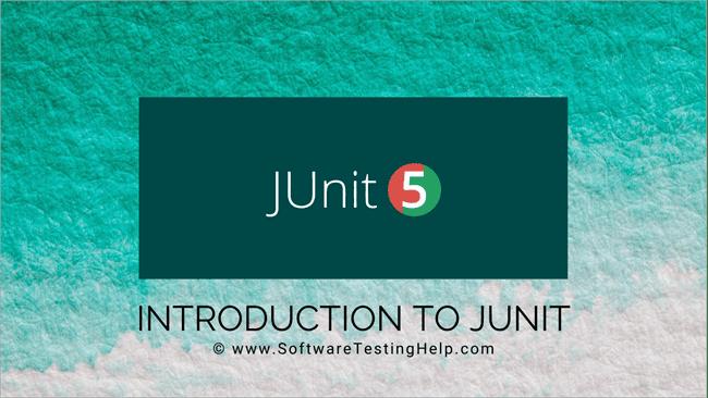 JUnit tutorial
