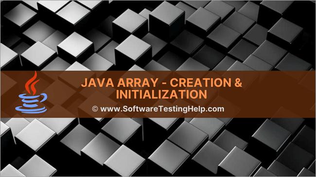 Declare Create Java Array