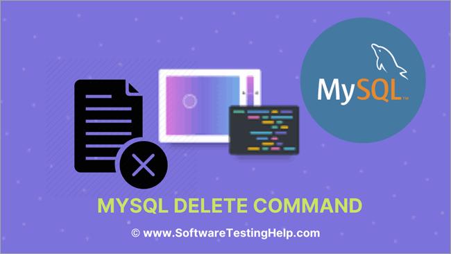 MySQL DELETE Command