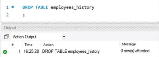 MySQL DELETE Entire Table