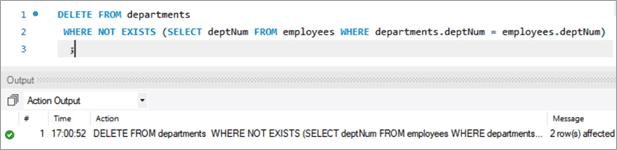 MySQL DELETE Using Select Clause