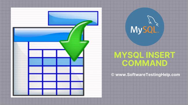 MySQL INSERT Into Statement