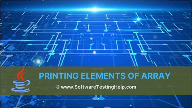 Print Java Array