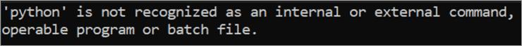 Python Message
