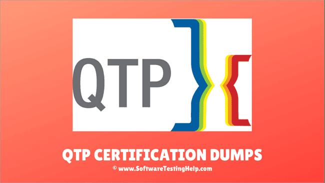 QTP Certification Dumps