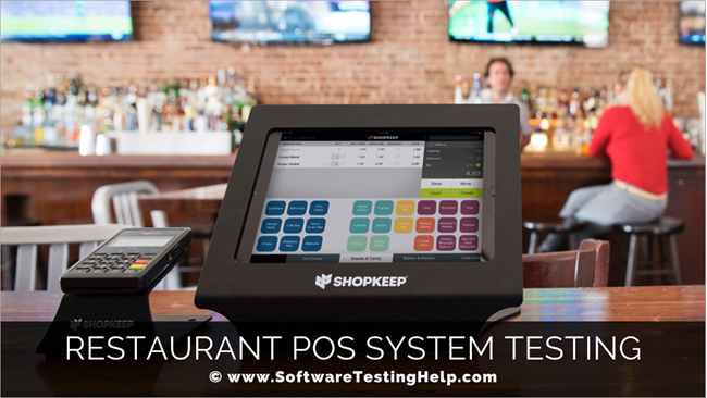 Restaurant POS System Testing