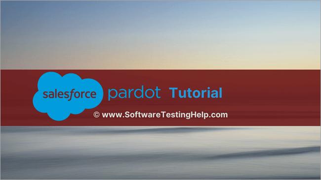 Salesforce Pardot Tutorial