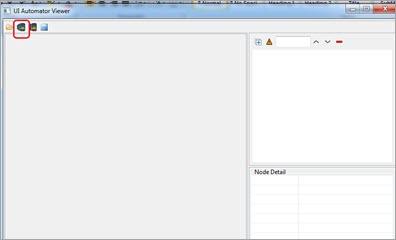 UIAutomatorViewer tool