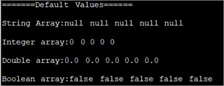 default values_output