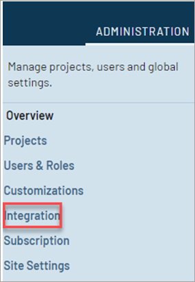 TestRail: integration wizard