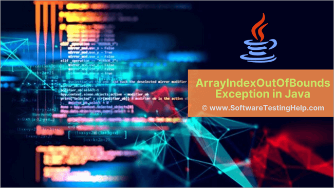 ArrayIndexOutOfBounds Exception in Java