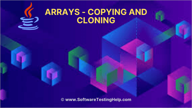 Arrays - Copying and Cloning