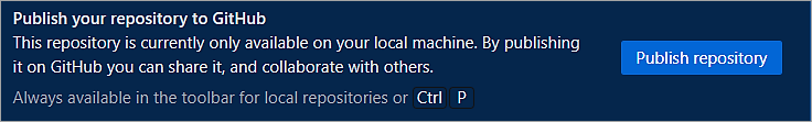 Publish repository