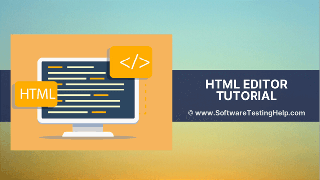 Online HTML Editor & Tester Tools