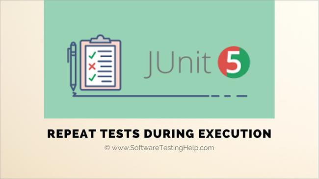 JUnit 5 RepeatedTest