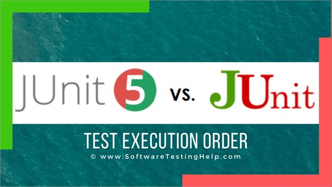 JUnit Test Execution Order