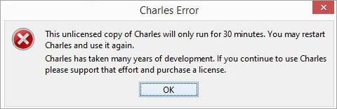 Charles Error