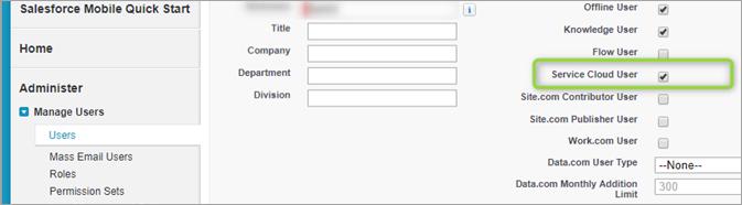 3 Service cloud user enabling
