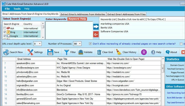 Cute Web Email Extractor1